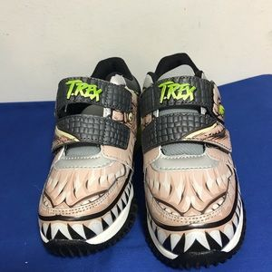 NEW JURASSIC WORLD T.REX BOY SNEAKERS SIZE 13